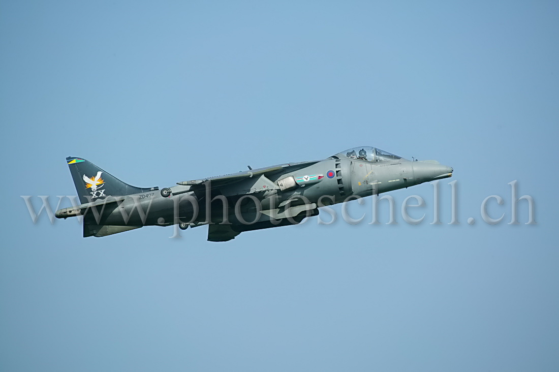 Harrier GR7 en vol